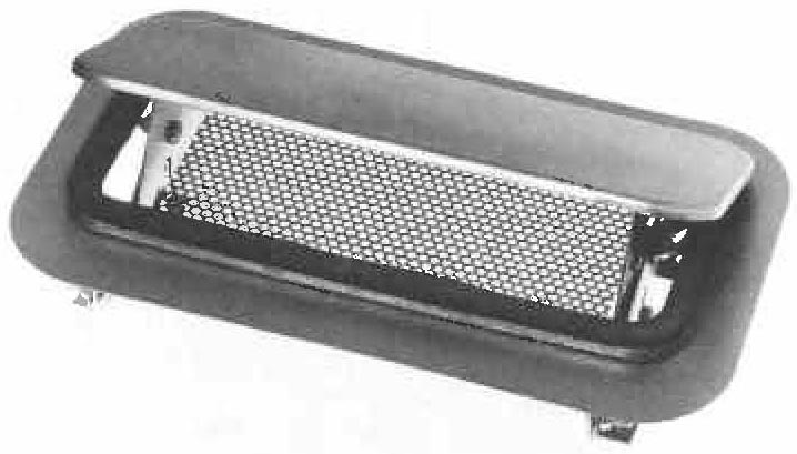Double Action Side Or Cowl Ventilator