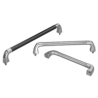 Stainless Steel Pull Handles - Three Piece Design