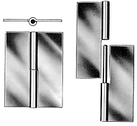 Steel Mortise Type E Loose Hinge