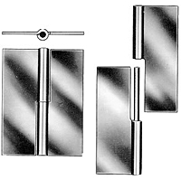 Steel Mortise Type F Loose Hinge