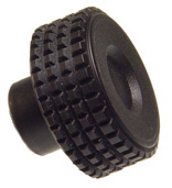 Diamond Knurl High Impact Knob - Tapped/Ream - Inch