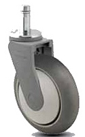 Medium Duty - Thermoplastic -  Swivel Lock - Capacity to 300 lbs