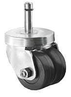 Business Machine -  Dual Wheel Spring Ring Stem - Capacity to 200 lbs