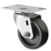 Business Machine - Single Wheel Swivel - Capacity to 350 lbs