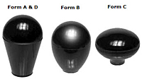 Lever Knobs - Inch