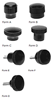 Miniature Clamping Knobs - Inch