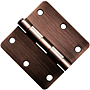 "3.5x3.5 1/4"" Radius Door Hinges"