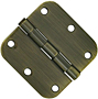 "3.5x3.5 5/8"" Radius Door Hinges"