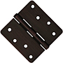 "4x4 1/4"" Radius - .085 Gauge Door Hinges"