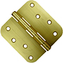 "4x4 5/8"" Radius - .085 Gauge Door Hinges"