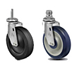 Light Duty - Threaded Stem Casters - Capacity to 220 lbs