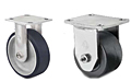 Heavy Duty Rigid Top Plate Casters - Capacity to 1,500 lbs