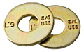 L9 Alloy USS Tension Flat Washer Zinc-Yellow