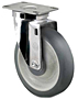 Medium Duty - Stainless Steel - Top Plate Swivel - Capacity to 300 lbs