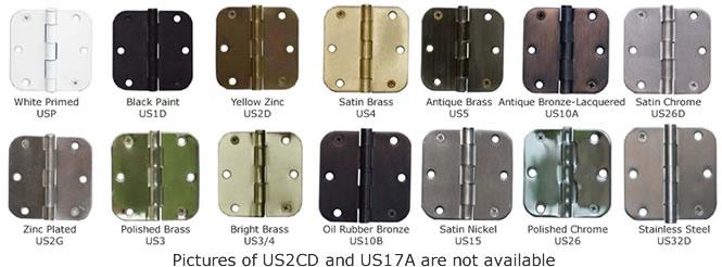 3x3 5 8 Quot Radius Monroe Hinge Amp Stamping