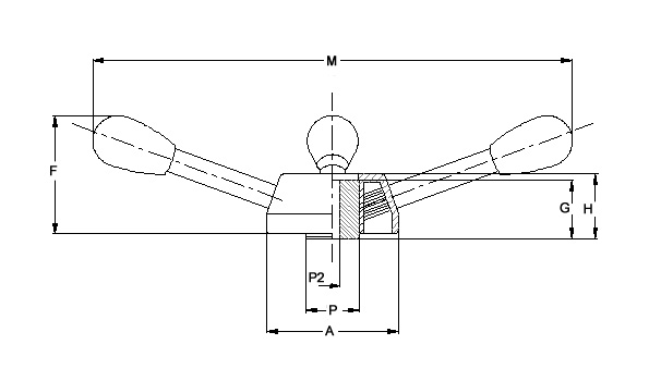 Lever Arm Depth : Item four arm lever arms on monroe engineering