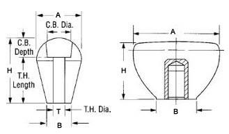 #MOE07 Moeller Rod Lever Plastic HH-K