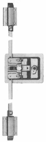 Two Point Slam Paddle Handle Latches