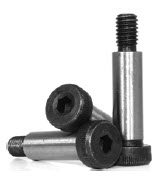 Socket Shoulder Screws, Black, Alloy