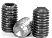 Cup Point Socket Set Screws, Ni Cu Alloy,Plain