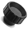 Grip Knob - Tapped Blind Hole - Inch