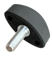 Oval Wing Knobs - Locking Key - Metric