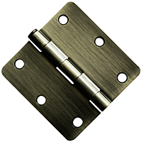 "3x3 1/4"" Radius Door Hinges"
