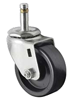 Business Machine - Single Wheel Spring Ring Stem - Capacity to 350 lbs