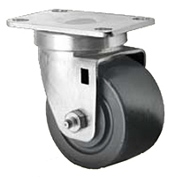 Business Machine - Single Wide Wheel Swivel - Capacity to 500 lbs