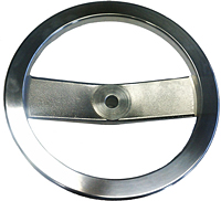 Polished Aluminum Handwheels Two Spoke - Inch