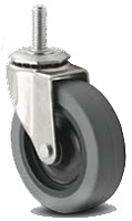 Light Duty - Threaded Stem Casters - Capacity to 75 lbs
