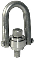 Stainless Steel - Safety Engineered Hoist Rings - Inch