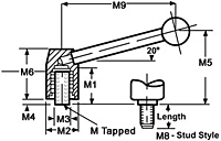 Steel Insert - Tapped - Metric