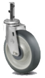 Light Duty - Swivel Ocatagon Stem - Capacity to 220 lbs