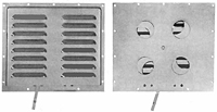 Multi-Purpose Ventilators Aluminum Vent with Closure