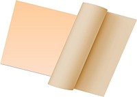Rubber Sheeting Tan Pure Gum Rubber