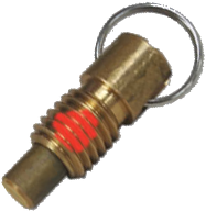 Short - Locking With Patch - Brass