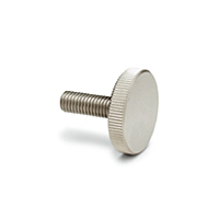 DIN 653-NI Knurled Grip Knobs with Threaded Pin