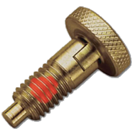 Locking With Patch - Brass