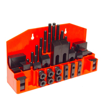 52 PCS Clamping Kit with ABS Plastic Holder