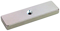 Neodymium Bar Magnets - With Countersink Holes