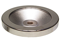 Solid Polished Aluminum Handwheels - Inch