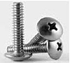 Machine Screw, Phillips Truss Head, Stainless Steel 18 8