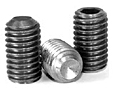 Cup Point Socket Set Screws, Stainless Steel 316