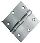 Commercial Door Hinges 3.5X3.5 Square