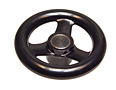 Plastic Handwheels - Three Spoke Plastic - Inch