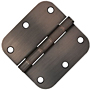 "3x3 5/8"" Radius Door Hinges"