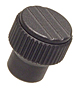 Straight Knurl Knobs - Tapped - Inch