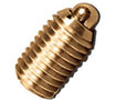 Brass Spring Plungers - No Nylon Patch - Inch