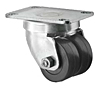 Business Machine - Dual Wheel Swivel - Capacity to 200 lbs